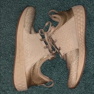 New Balance Gold Fresh Foam Running Shoes